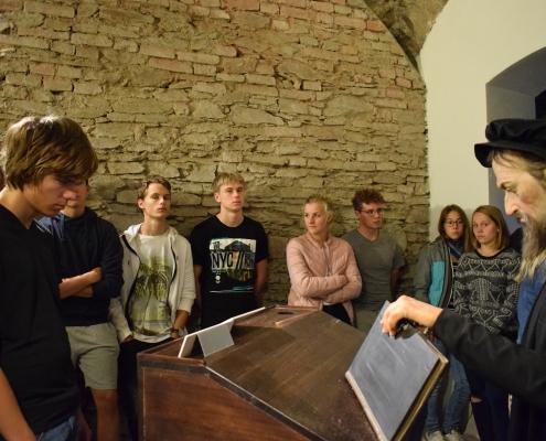 Spolu s učencem Agricolou