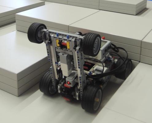 Konstrukce týmu RoboPalachRed byla nápaditá