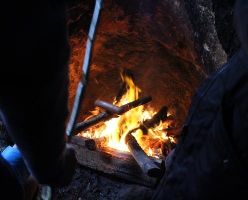 První oheň