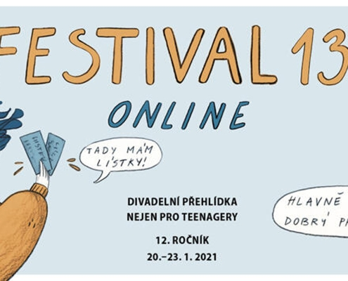 Festival 13+, letos online