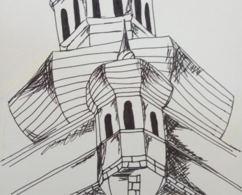 Mělník v detailu - výtvarná práce