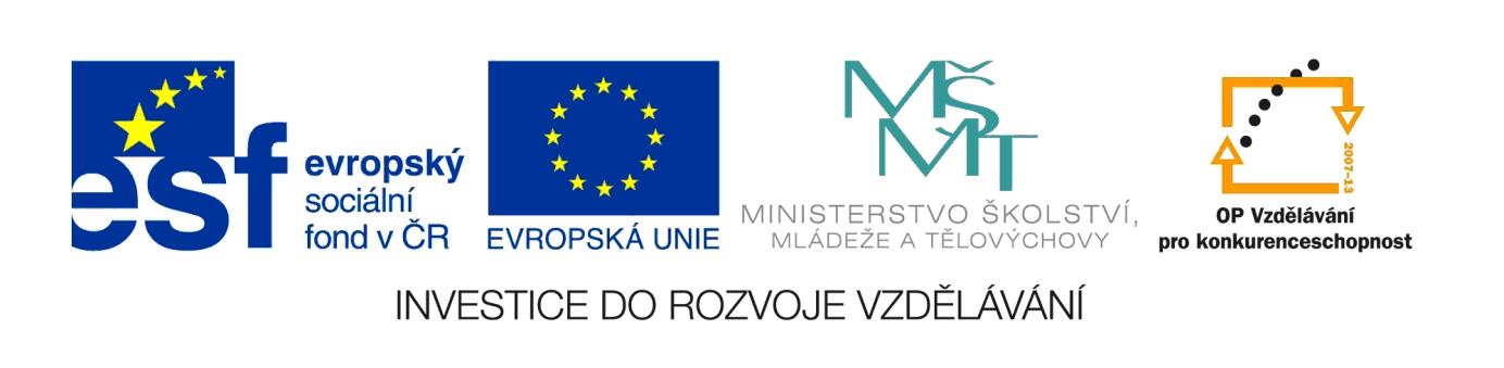 loga ESF, EU, MSMT, OP VK