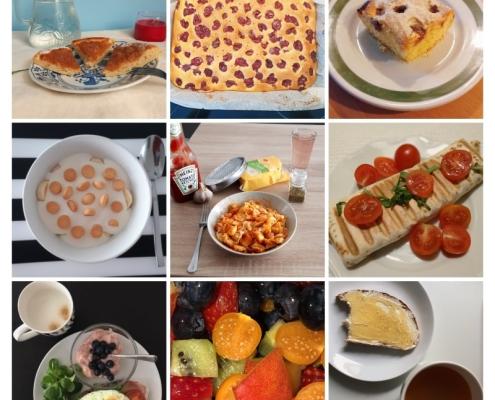 koláž - jídlo
