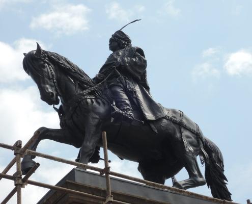 Jezdecká socha Jiřího z Poděbrad