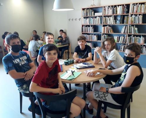 Společně v knihovně 1
