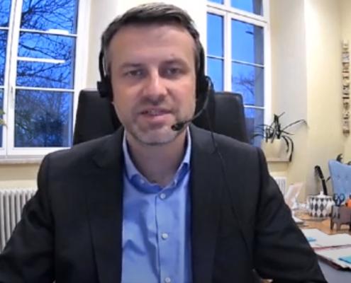 Dr. Kristian Raum, ředitel GFS