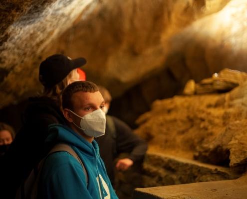 V Koněpruské jeskyni