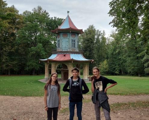 Studujeme místní podmínky ve Vlašimském parku